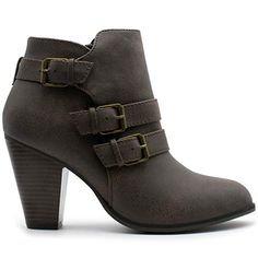 online shopping for Forever Women s Buckle Strap Block Heel Ankle Booties  from top store. See new offer for Forever Women s Buckle Strap Block Heel  Ankle ... 699d538ee