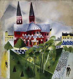 Greta Hällfors-Sipilä: Johanneksen kirkko, n. 1918. Kansallisgalleria / Ateneumin taidemuseo. Kuva: Kansallisgalleria / Hannu Aaltonen