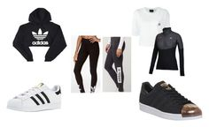 """Untitled #40"" by aimeerobertson on Polyvore featuring adidas"