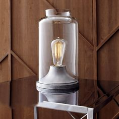 Industrial table lamp from CB2 - Decoist