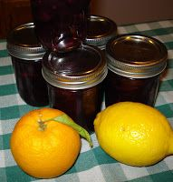 Citrus and Blueberries - .Blueberry Orange Marmalade It's what's in season! - Canning Homemade!