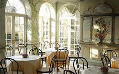 "Taking afternoon tea in the Orangery of a Georgian townhouse is almost as indulgently nostalgic as the eclectic collection of intricate fans, or ""trifles"" as history has often described them, on show at the Fan Museum"