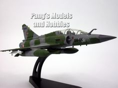 Mirage 2000D French AF 1/100 Scale Die-cast Model by Italeri