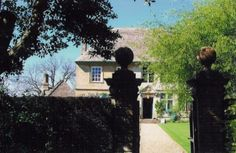Lakefield House (inspired by Snowshill Manor) -- The front gate, where a guest would arrive.