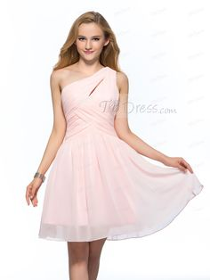 Ruched Simple One Shoulder A-Line Short Homecoming Dress http://www.tbdress.com/product/Concise-Simple-One-Shoulder-A-Line-Short-Homecoming-Dress-10979149.html