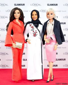 The first hijabi Barbie is finally here and it'll inspire the world. Have a look. Doll Clothes Barbie, Vintage Barbie Dolls, Barbie Dress, Barbie Life, Barbie World, Fashion Royalty Dolls, Fashion Dolls, Barbies Pics, Barbie Fashionista Dolls