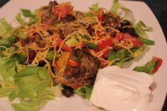 Deconstructed Low carb Taco @Laura Goguet