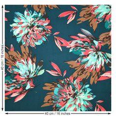 John Kaldor Hermione Fabric. Green. 148cm Wide. | Sew Essential