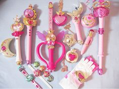lovely pink sailor moon collection!