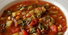 awesome Slow Cooker Tomato Spinach Soup