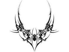 Tribal Spider Lower Back Tattoo Tabatha - Letter Tattoos Tribal Tattoos, Dope Tattoos, Pretty Tattoos, New Tattoos, Body Art Tattoos, Sleeve Tattoos, Wing Tattoos, Tribal Tattoo Designs, Tattos
