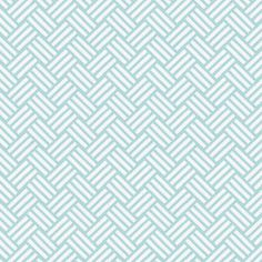 Aqua Mini Parquet Sold by the Yard #carouseldesigns  ($44 as changing pad cover)