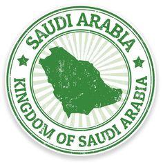 2 X Saudi Arabia Vinyl Sticker Car Travel Luggage King Salman Saudi Arabia, Riyadh Saudi Arabia, Pop Stickers, Tumblr Stickers, Travel Icon, Car Travel, Travel Luggage, National Day Saudi, Stippling Art