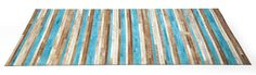 Stripes Aqua tapijt - Kare Design