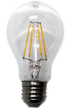 Lighting Science A19 Vintage Filament LED Bulb 40 Watt Equal 2200K | EarthLED.com LSPro A19 40WE W22 120 FIL BX