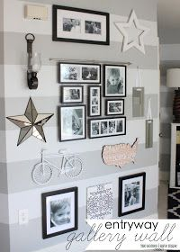 Entryway Gallery Wall