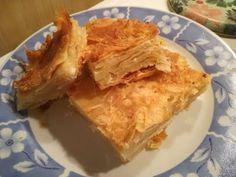 Cooking With Fey-Τυρόπιτα διπλωμένη Βλάχικη συνταγή - YouTube