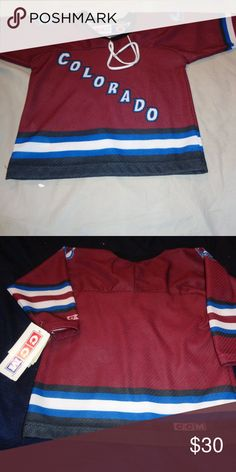9e03ecb41 CCM Colorado Avalanche NHL Hockey Jersey Toddler CCM Colorado Avalanche NHL  Hockey Jersey Toddler. Brand New with tags. length 16