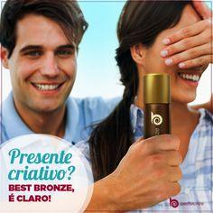 Sem idéia do que dar de presente? A gente ajuda! www.bestbronze.com.br  #bestbronze #autobronzeador #bronze #bronzeado #pelebronzeada