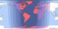 Gives exact time for your city...September 27 / September 28, 2015 — Total Lunar Eclipse of Super Moon – Where and when to see