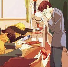 Lucky Shinichi, Ran, Sonoko, Kaito, Vermouth and even ... Jodie Sensei I think? Lol. Shiho is enjoying this xD