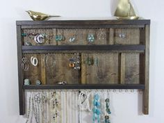 Hey, I found this really awesome Etsy listing at https://www.etsy.com/listing/167233513/jewelry-organizer-display-hanger-holder