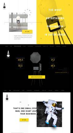 ミニマルデザインと配色の勉強に Creative Web Design, Web Ui Design, Web Layout, Layout Design, West Coast University, Design Development, Ui Ux, Menu, Templates