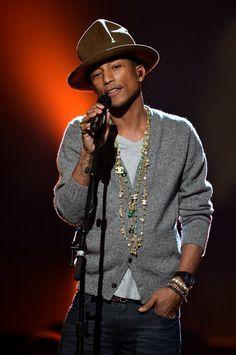 Pharrell Williams, Grammy 2014
