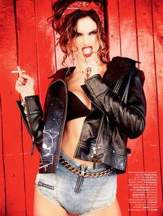 Alessandra Ambrosio para Vogue Brasil! - Helena Bordon