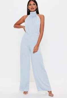 c73bcb187a3f White black striped wide leg jumpsuit size UK 12 14 Bargain Price UK ...
