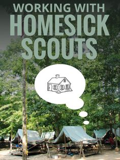 While homesickness is common a good prevention plan can make it less powerful. By familiarizing Scouts with the camp experience, building transitions between home and camp, and establishing a contact plan you'll prevent the most common causes of homesick Scouts