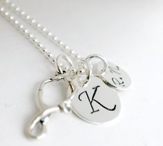 Gift for Nurse  Personalized Nurse Necklace RN by Studio463, $54.00