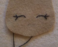 Painting And Doll Making: Tutorial on how to make the eyes and mouth/Jazzy The Jazz Dancer New Felt Doll