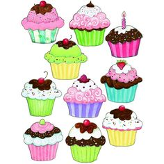 Cupcakes Freebies Pinterest Cupcakes Coloring Pages Und Doodles