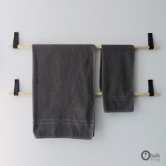 diy towel holder 5