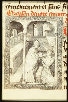 Philip the Good, Duke of Burgundy, going to communion | Follower of Jean le Tavernier