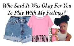 """Play~~"" by be-you-tiful-flower ❤ liked on Polyvore featuring Levi's, Converse, women's clothing, women, female, woman, misses and juniors"