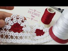 Crochet Edging Patterns, Crochet Lace Edging, Crochet Earrings, Jewelry, A4, Fashion, Towel Bars, Crochet Edgings, Crochet Decoration