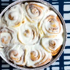 These Homemade Cinnamon Rolls are warm, gooey, and oh so craveable!