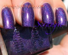 """Color Club's """"Wild at Heart"""" from Fall 2009.  Purple holographic."""