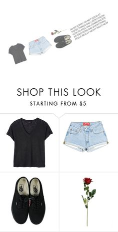 """Untitled #505"" by dyingflowers ❤ liked on Polyvore featuring Deby Debo and Vans"