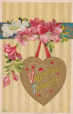 Vintage valentines to download for your crafts