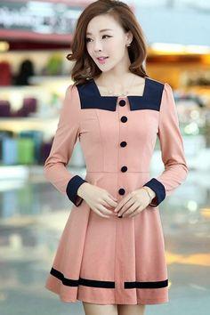 Atractivos vestidos de oficina | Modernos vestidos de moda de oficina