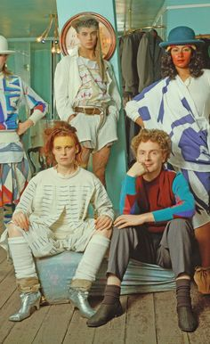 Vivienne westwood and Malcolm mclaren.
