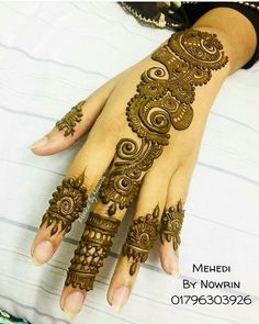 Indian Henna Designs, Finger Henna Designs, Simple Arabic Mehndi Designs, Henna Art Designs, Mehndi Designs For Girls, Mehndi Designs For Beginners, Modern Mehndi Designs, Dulhan Mehndi Designs, Bridal Henna Designs