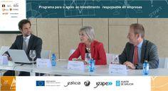 http://blogs.xunta.es/rse/2015/11/17/un-total-de-12-empresas-participaron-na-primeira-lonxa-de-investimento-responsable-de-galicia/ O pasado 13 de novembro celebrouse a Lonxa de investimento responsable, que supuxo o punto final dun completo programa formativo e de asesoramento ...