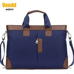 Aliexpress.com : Buy Vandd Men's Quality Nylon Horizontal Blue Tote Laptop Briefcase Handbag Casual Shoulder Messenger Bag For Travel School Business from Reliable man fashion bag suppliers on Vandd Men. $42.00