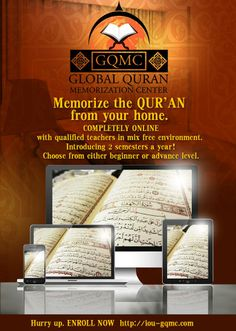 IOU's Global Quran Memorization Center Completely ONLINE! From Instructors holding Ijaaza in memorization Completely separated learning environments for sisters and brothers  JOIN NOW! by visiting: http://iou-gqmc.com/ HURRY UP! #IOU #GQMC You can enroll into groups by 15th MARCH ONLY!! For any queries, please email us at info@iou.edu.gm