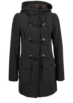 Dufflecoat mit karierter Innenseite im s.Oliver Online Shop Online Shopping,  Closets, Olives 2740f5b650