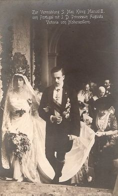 Manuel of Portugal and Augusta Victoria